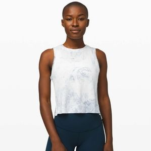 Lululemon Train to Be Tank *Wash in White/…
